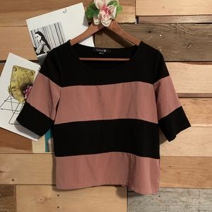 Thick Stripe Lose Fit Shirt